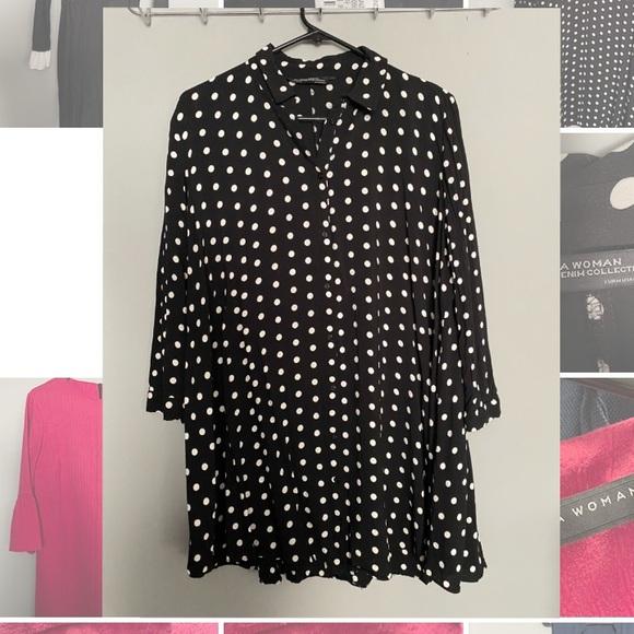 ‼️WEEKEND SALE‼️ Zara A-like dress shirt